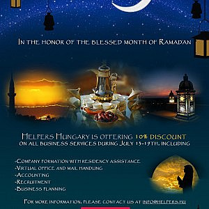 Helpers Special Ramadan offer - Investment immigration